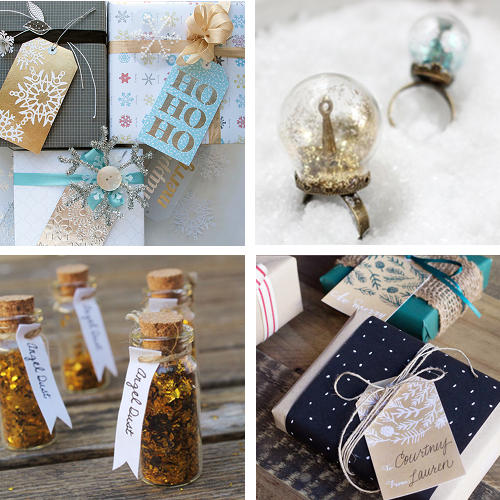 Christmas DIY Projects for Homemade Christmas Gifts and Wrap