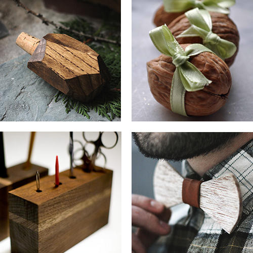 Christmas wood gifts