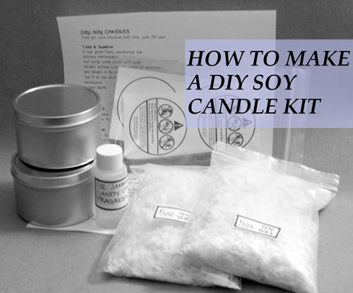 How to Make a DIY Soy Candlemaking Kit