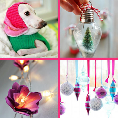 Lovely Handmade Holiday Gifts and  Decorating Ideas
