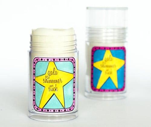 New Year's Beauty DIY - Gala Shimmer Stick Recipe