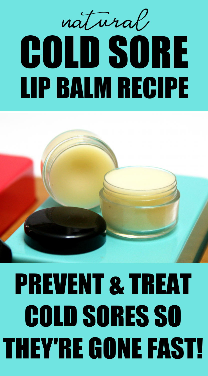 Best Natural Lip Balm For Cold Sores
