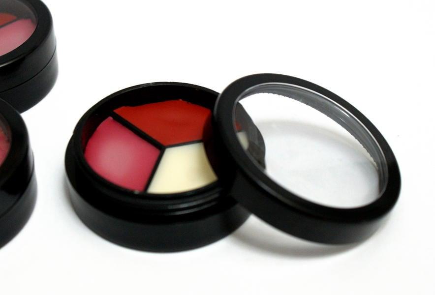 DIY Homemade Tri-Color Lip Balm Recipe