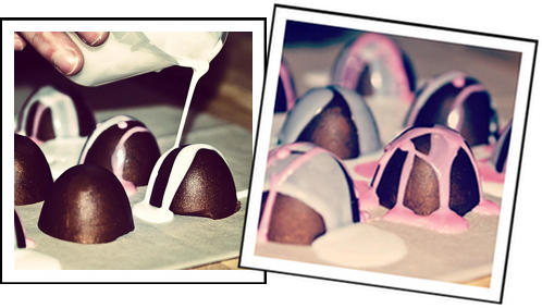 Homemade Valentine's Day Gift Idea - Handmade DIY Chocolate Scented Soap Truffles