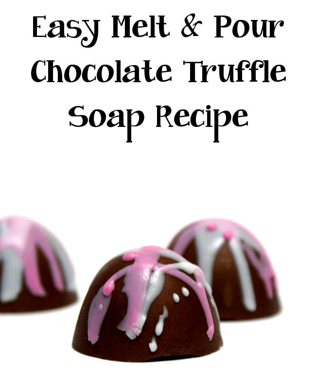 If you're on the hunt for a super sweet homemade Valentine's Day gift idea, this homemade chocolate truffle soap recipe is sure to delight.