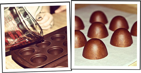 DIY Handmade Chocolate Truffle Soaps