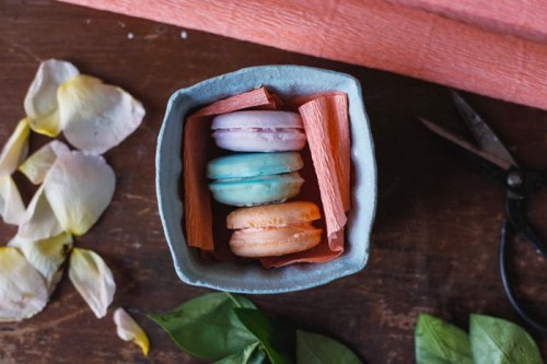 DIY Homemade Melt and Pour Macaron Soap Recipe and Tutorial