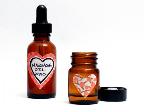 Homemade massage oil recipe for Valentine's Day gifts.Homemade Valentine's Day Gift Idea. DIY Sensual Massage Oil Recipe for Lovers. Essential oil massage oil recipe. Aromatherapy and essential oils. An awesome massage oil recipe that's perfect for your valentine this winter. DIY massage oils with natural essential oils. How to make an essential oil body massage oil recipe. Romantic massage oil recipe for your significant other. Essential oil uses.