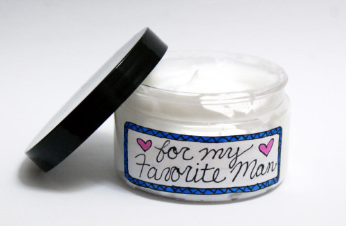 DIY Lightly Scented Face Cream for Men - Handmade Gift Idea for Guys