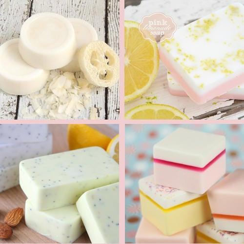 DIY Handmade Melt and Pour Soap Recipes and Homemade Gift Ideas