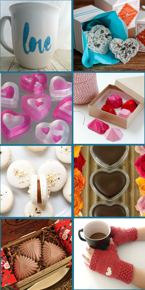 Homemade DIY Valentine's Day Gift Ideas - Handmade Gifts and Treats for Sweethearts