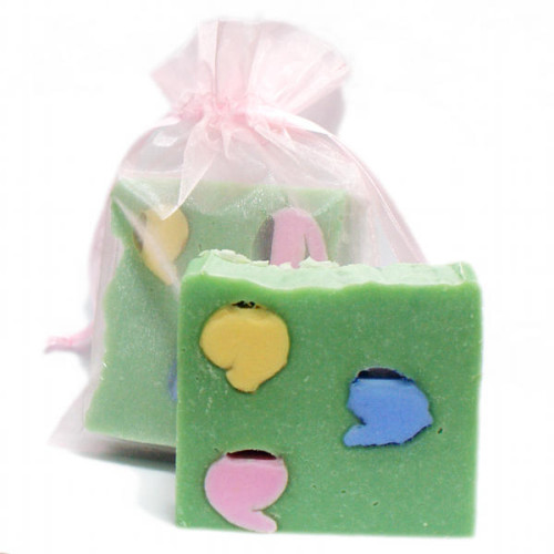 Handmade Easter Gift Idea - DIY Homemade Spring Soap Recipe
