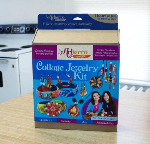 Eco-Friendly Arrtterro Collage Jewelry Craft Kit Giveaway