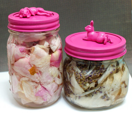 Natural Homemade Rose and Lavender Floral Water DIY
