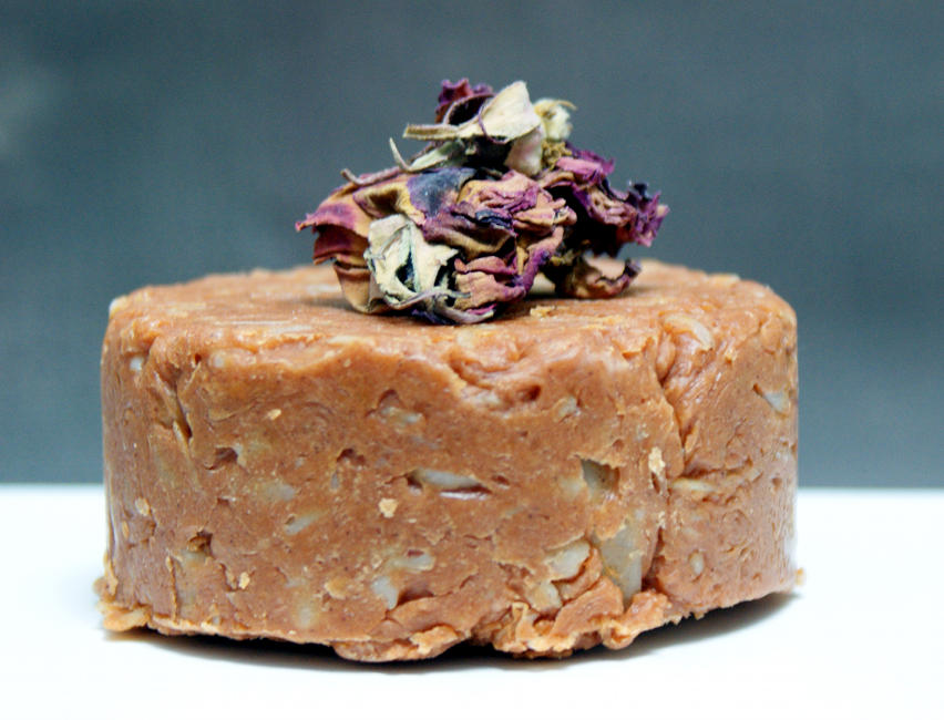 Homemade Rosehip and Sea Buckthorn Hand Milled Facial Soap Recipe for Dry and Mature Skin