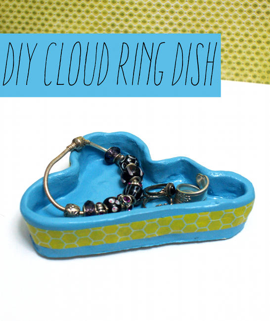 DIY Cloud Ring Dish Craft Project