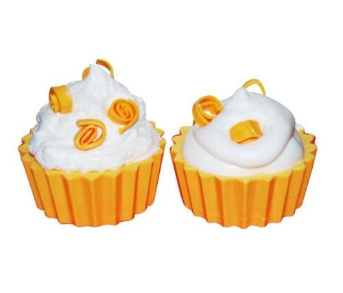 DIY Orange Cream Cupcake Melt and Pour Homemade Soap Recipe
