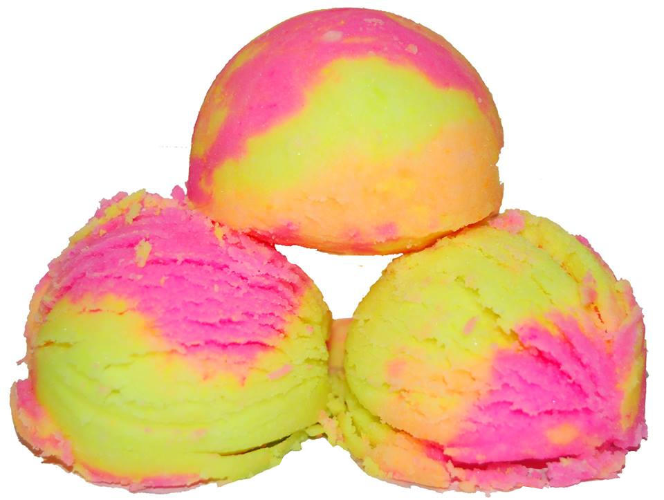 How to Make Bath Bombs - DIY Rainbow Sherbet Bath Fizzies Recipe that looks just like ice cream!