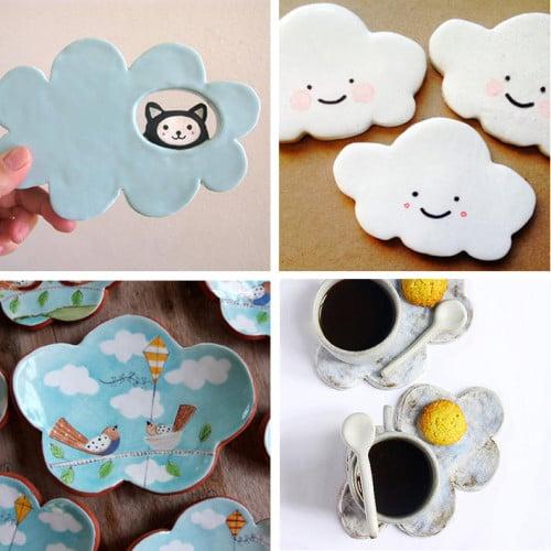 Handmade Clay Pottery Dishes