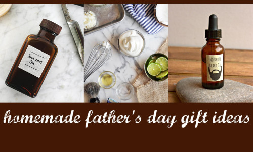 Homemade Gift Ideas for Dad on Father's Day