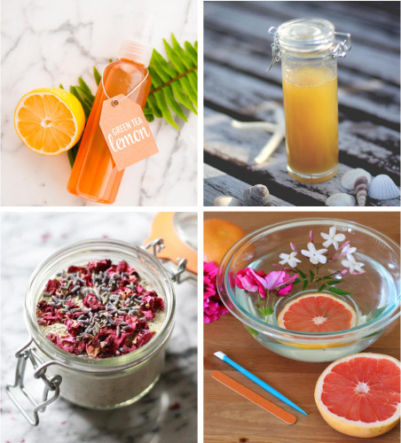 Natural Summer Skin Care Recipes and Beauty DIY's
