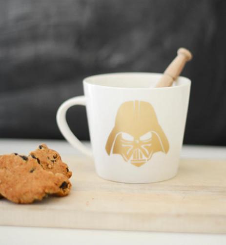 DIY Darth Vader Star Wars Mug Gift Idea for Dad
