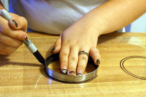 DIY Terrarium Magnets - Step One