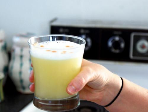 Ginger Lemongrass Martini Cocktail Recipe