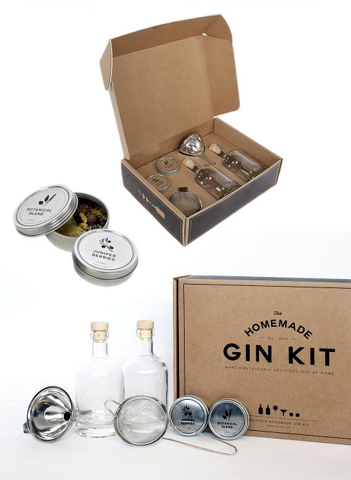 Homemade Gin Kit and DIY Gin Recipe