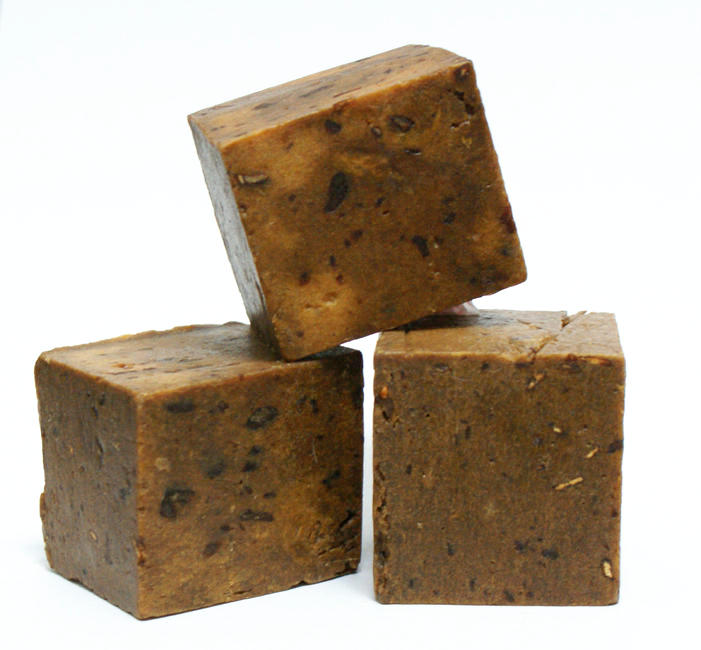 Homemade Soap Recipe - Handmade Honey, Oatmeal and Banana Cold Process Soap Recipe with Goat Milk