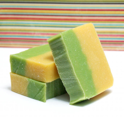 Lemon Mint Homemade Soap Recipe