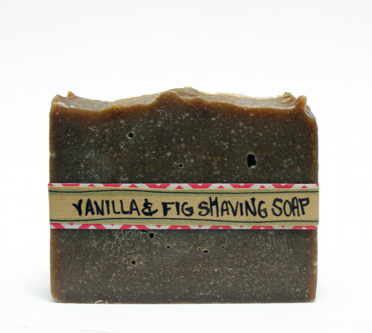 Vanilla and Fig Homemade Shaving Soap Recipe