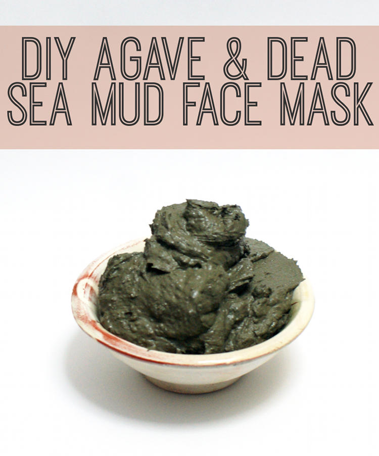 DIY Beauty Recipe - Agave and Dead Sea Mud Detoxifying Face Mask Recipe