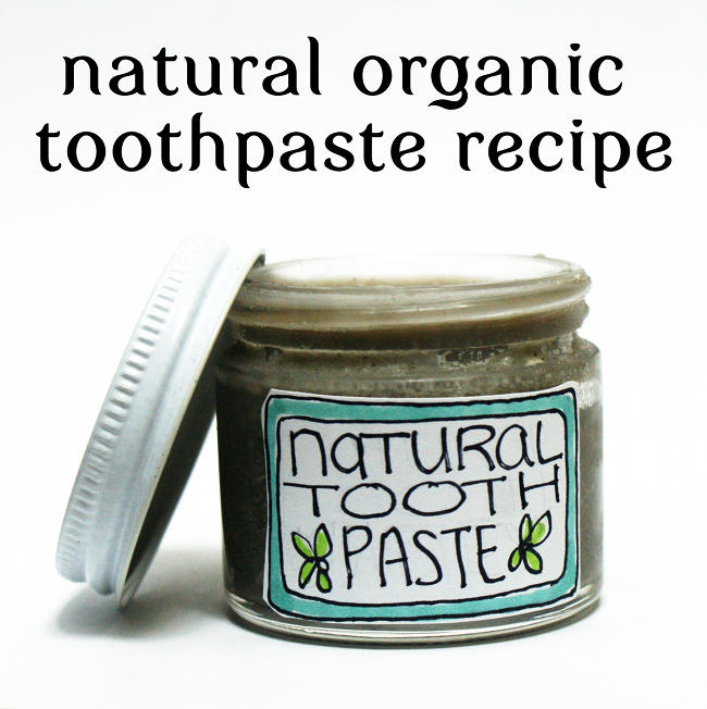 DIY All Natural Homemade Toothpaste Recipe