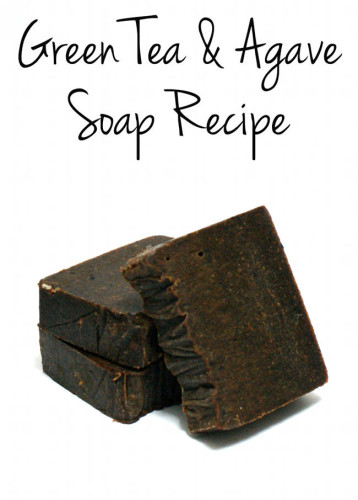 Green Tea and Agave Palm Free Cold Process Soap Recipe