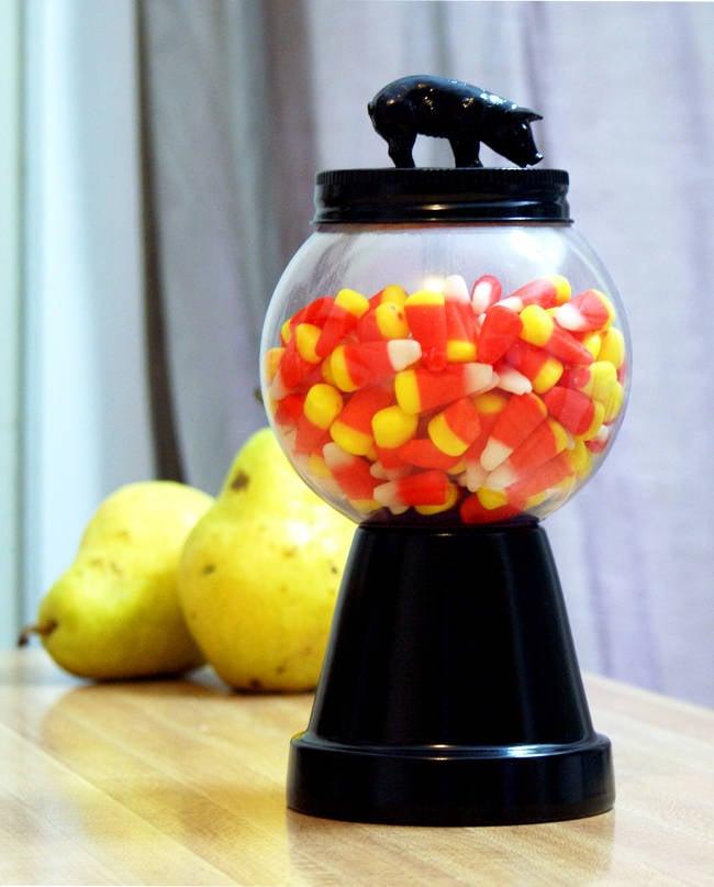 DIY Halloween Piggy Candy Jar