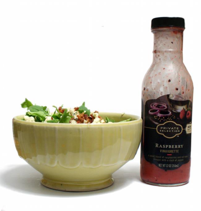 Homemade Blue Cheese and Bacon Arugula Salad Recipe