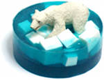 DIY Polar Bear Soap and Homemade Christmas Gift Idea