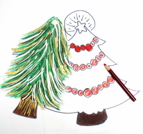 How to Make Shrinky Dink Christmas Tree Ornaments