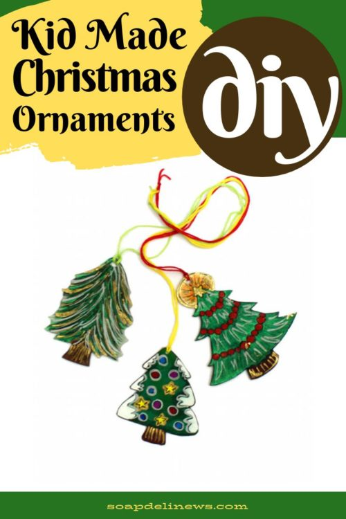 Easy Diy Christmas Ornaments The Kids Can Make For The Holidays