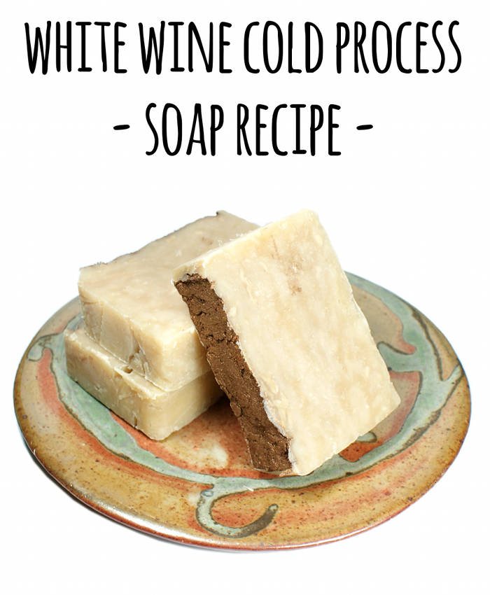 This cold process wine soap recipe is a creative way to use up that leftover wine that's sat in the fridge too long.