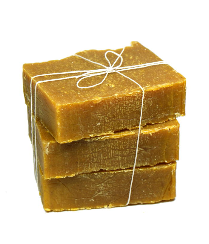 This Coconut Oil Facial Soap Recipe for Acne Prone Skin combines ingredients known for their acne fighting properties to help skin acne free!