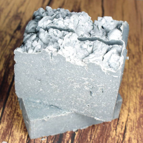 This natural black clay and sea salt soap recipe is made using Australian black clay and fine sea salt for a luxurious spa like experience in the shower!