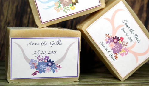 DIY Wedding Soap Favors & Two Homemade Soap Recipes