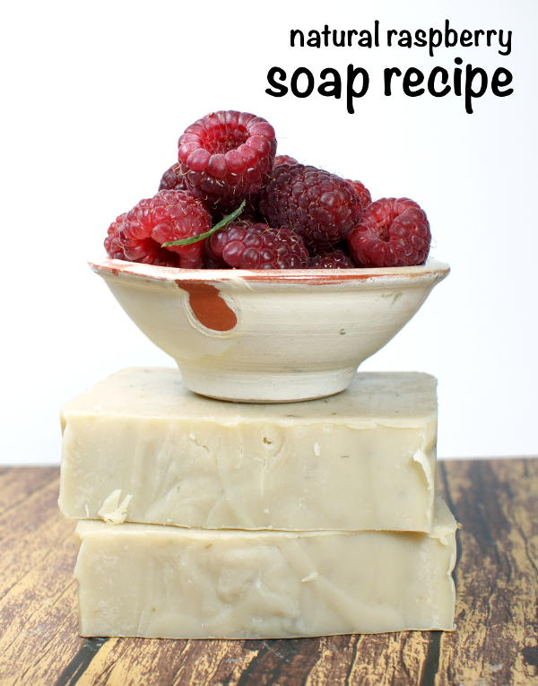 This natural homemade raspberry cold process soap recipe is made with real ripe raspberries which are naturally rich in antioxidants which help to prevent and repair skin damage.