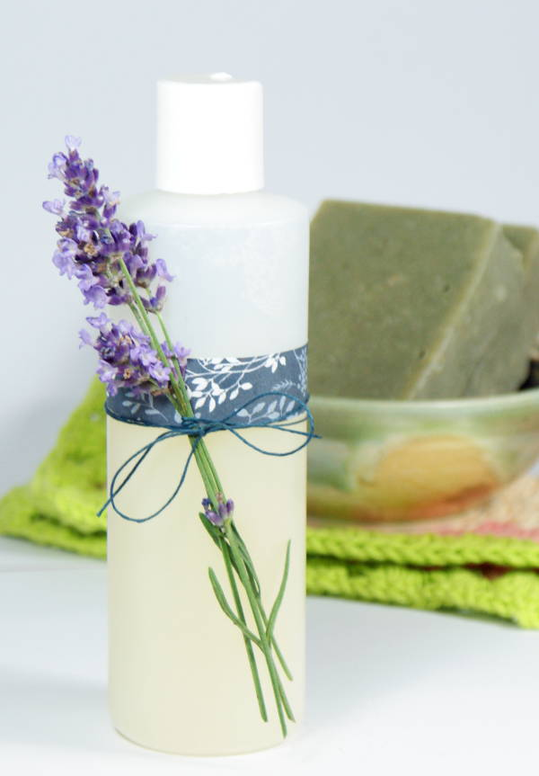 This homemade rose and lavender body wash recipe is so simple to make that you won't believe how luxurious it feels on skin! Plus it's also great as a foaming hand soap refill!