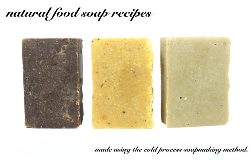 Learn how to make soap with these natural homemade soap recipes that contain real fruits and veggies as ingredients to give homemade soaps a super luxurious feeling on skin!