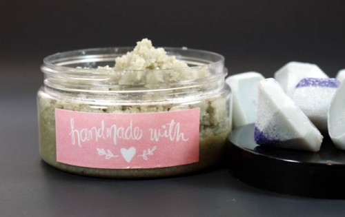 Problem skin? Try this homemade body scrub recipe for acne prone skin to help keep skin looking and feeling great without drying it out!