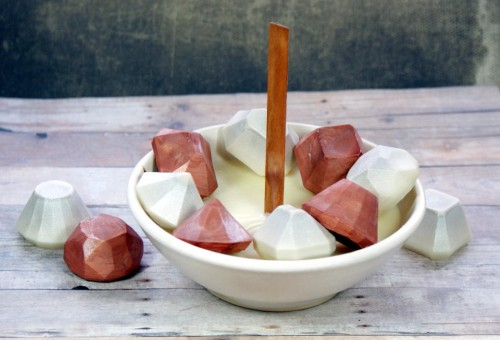 These DIY gemstone candles are a fun way to decorate your space or make them as homemade gifts throughout the year for nearly any occasion.