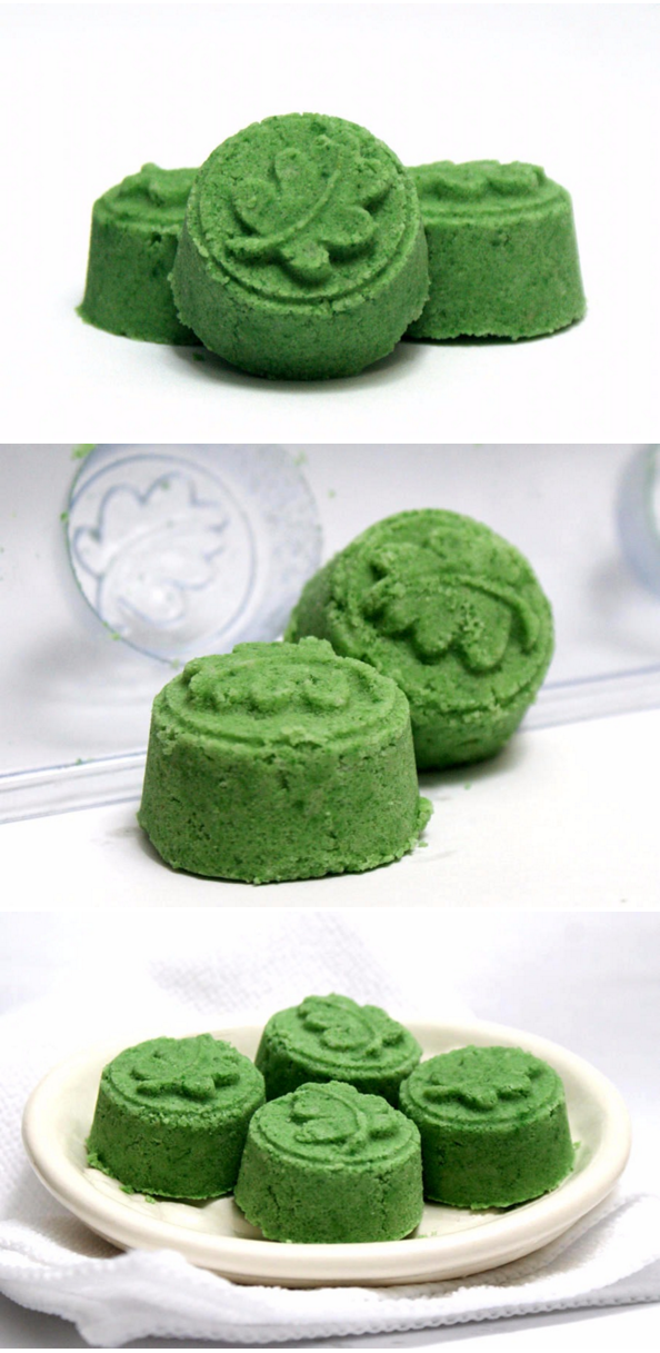 These DIY Lemongrass & Sage Bath Bombs are sure to bring memories of spring now matter how cold it is outside this winter! Made with skin nourishing Argan oil and kaolin clay, these easy DIY bath bombs are more than just a fun treat for the bath.